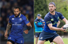 Leinster's Nacewa and Gibson-Park denied entry to South Africa due to visa issues