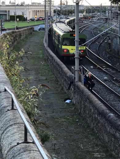 No normal Dart service until tomorrow morning after 'low speed derailment' at Dun Laoghaire