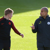 De Bruyne one of the best I've ever seen, says Guardiola