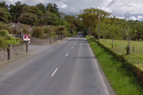 The road between St Johnston and Lifford in Donegal.