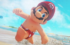 People are freaking out that Super Mario has nipples for some reason