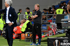 Koeman lays blame on himself for Everton's dismal Europa League display