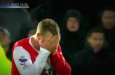 WATCH: Man City youngster Guidetti gets sent off for celebrating
