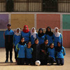 Young girls playing football are breaking cultural barriers in Palestine