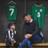 Roy Keane makes one young Ireland fan's day at the Aviva Stadium