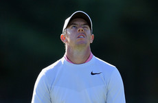 Rory McIlroy 15 shots off the lead with FedEx Cup defence all but over
