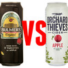 Let's settle this once and for all: Which is better, Bulmers or Orchard Thieves?