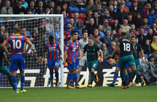 Crystal Palace make unwanted history as Davis ruins Hodgson's debut