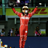 Vettel snatches Singapore pole with stunning lap record