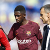 Massive blow for Barcelona as €105 million signing Dembele set for extended layoff