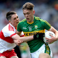 The Clifford show as Kerry hit 6 goals in All-Ireland minor final win over Derry