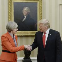 Theresa May says Trump visit still on despite his terror tweets