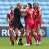 'He sprayed water in my face': England team-mates Haskell and Marler in heated scuffle