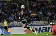 Bale strikes in vital Madrid win at Sociedad