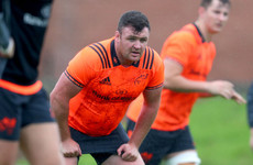 Good news on the injury front for Munster's Dave Kilcoyne and JJ Hanrahan