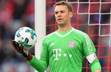Bayern Munich goalkeeper Manuel Neuer ruled out until 2018 with broken foot