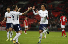 Alli lifts Spurs, Stoke shocked and all tonight's League Cup results