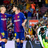 Watch: Majestic Messi leads Barca romp with four goals