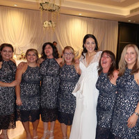 SIX women turned up to a wedding wearing the same dress, and the pic is going viral