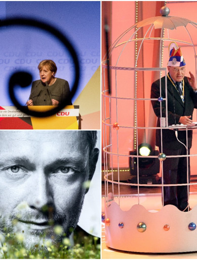 There have been some weird, weird moments in the lead up Germany's election