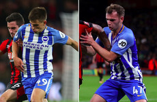 Hughton 'really pleased' after Deise duo start in Brighton's midfield