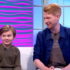 Domhnall Gleeson and his 8-year-old co-star from Goodbye Christopher Robin have an adorable friendship