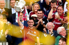 Pen to paper for Galway's All-Ireland winning hurling speech with the help of his mother