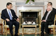 In pics: Michael D Higgins meets Xi Jinping at the Áras