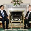 In pics: Michael D Higgins meets Xi Jinping at the Áras