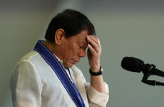 Philippine president Duterte says he'll kill his own son if he is involved in drug trafficking