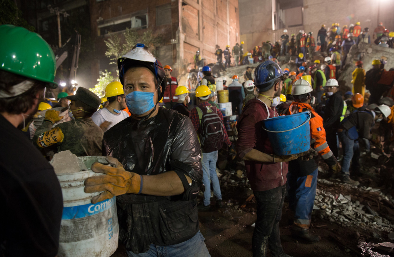 Frida Sofia  – the young girl trapped beneath rubble in Mexico City – never  existed 367cc6b68261