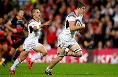 Ulster score eight tries on way to victory over Bernard Jackman's Dragons