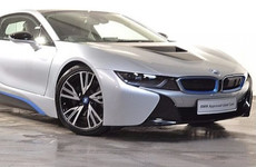 The BMW i8 is the world's first plug-in hybrid supercar