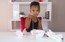 According to Rihanna, this 2-year-old Youtuber has the 'best review' of Fenty Beauty