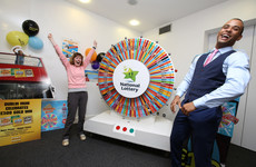 People got to spin the Winning Streak wheel for Culture Night