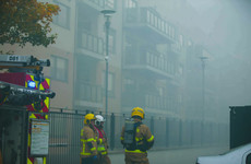 Firefighters battle underground blaze in north Dublin