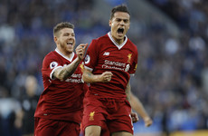 Classy Coutinho helps Liverpool halt their slump after Vardy misses from the spot