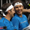 Roger Federer and Rafael Nadal played doubles together and started the greatest bromance