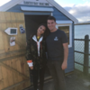 Emily Ratajkowski took a casual boat ride around Bantry Bay during her trip to Cork