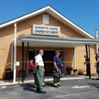 Mass shooting at Tennessee church leaves one woman dead and seven others injured