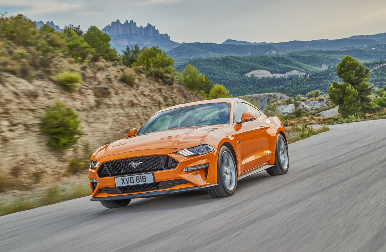 The updated ford mustang is sleeker safer and more powerful
