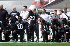 Suddenly, football doesn't seem all that important as NFL players fight back