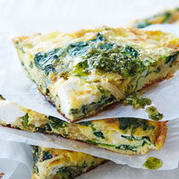 The42 recipe book: High-protein spinach and goats cheese frittata