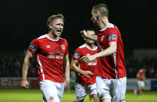 Saints boost chances of beating the drop with vital win over Shamrock Rovers