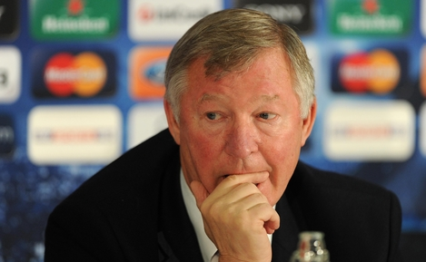 Alex Ferguson reflects on Rooney's decision Manchester United at the club's Carrington training ground this afternoon