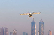 Dubai successfully tests pioneering two-seater air taxi service