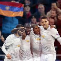 Lukaku continues scoring run as Man United win comfortably in Moscow