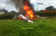 Empty plane crashed into electric fence at Tipperary airfield after pilot 'was in a hurry to get airborne'