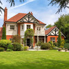 A spacious six-bedroom house with a mews in the heart of Foxrock