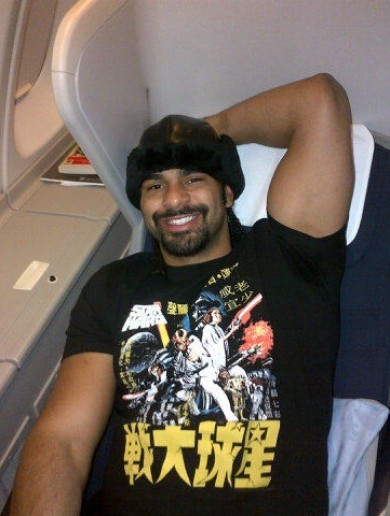 'It's party-time' – here's your obnoxious David Haye picture of the day